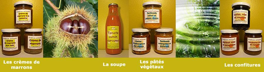 produit artisaneal confirure soupe paté