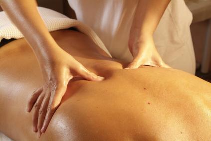 massage dans une chambre d'hote en ardeche