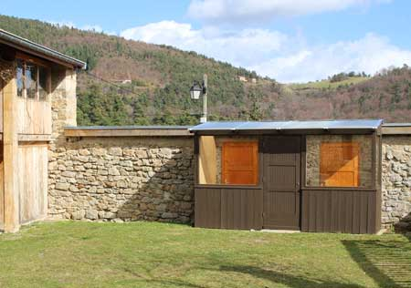 chambre hote ardeche exrerieur