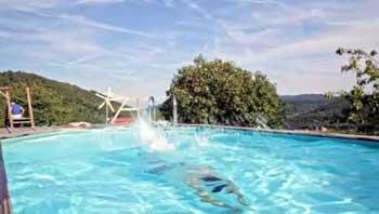piscine gite