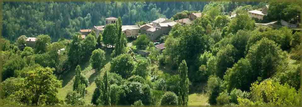village de caractère en Ardèche du nord