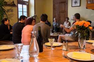 Notre table d'hotes en Ardèche