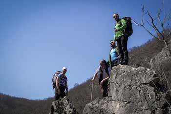 Activité de groupe en Ardèche verte