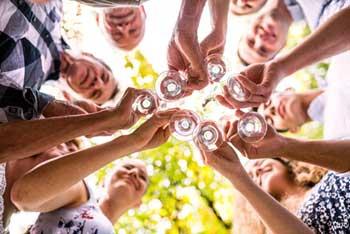 Venez faire la fête dans notre gîte en Ardèche